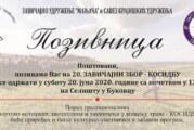 U subotu 20. Zavičajni zbor – kosidba u Bukovcu