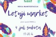 Letnji market na platou ispred SPENS-a