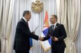 Stefanović sa zvaničnicima Azerbejdžana o saradnji sa Srbijom