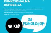"""Nova tribina Hemofarm fondacije """"Na kafi sa psihologom"""": Funkcionalna depresija"""