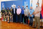 Prijem za novosadske stonoteniserke – šampionke Srbije
