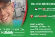 Za lečenje Stefana Subotića iz Belegiša potrebno 40.000 evra