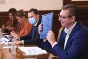 Vučić sa ambasadorima Kvinte i Fabricijem