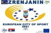 Zrenjanin proglašen za Evropski grad sporta 2021.godine