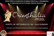 Osmi međunarodni plesni festival u Somboru – Orijentalija 2020.