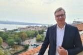 Vučić u Beogradu sa Lajčakom