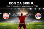 Cela Srbija gleda besplatno reprezentaciju
