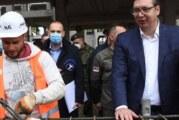 Vučić na svečanosti početka rada postrojenja Rafinerije
