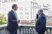 Vučić s Pastorom: O budućnosti Srbije i srpsko-mađarskim odnosima