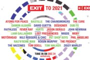 """Večeras na RTV Facebook stranici novogodišnji specijal """"EXIT to 2021"""""""