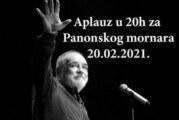 Novi Sad aplaudira Panonskom mornaru večeras u 20 časova, stotine ljudi i danas odaju počast