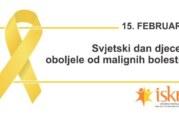 Međunarodni dan dece obolele i lečene od raka obeležen u Srpskoj