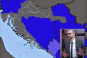 Kandidat za gradonačelnika Zagreba objavio kartu velike Hrvatske