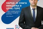 Kovačević: Izbori u Nikšiću strateško opredeljenje građana