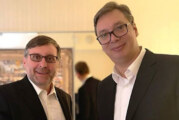 Predsednik Vučić razgovarao sa Palmerom