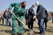 Podizanje vetrozaštitnog pojasa na obodu Novog Sada