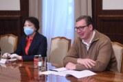 Vučić: Gradimo fabriku PCR testova i pogon za genome
