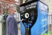 U Kragujevcu postavljeno pet mašina za prikupljanje staklene ambalaže, PET plastike, limenki i Tetra Pak ambalaže