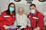 Revakcinisana i najstarija Novosađanka, Ilona Kovač (107)