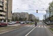 Novi semafor na Ulici Narodnog fronta od sutra u redovnom radu