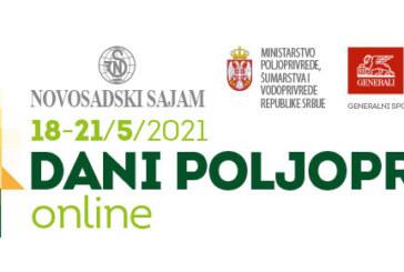 Na Novosadskom sajmu Dani poljoprivrede onlajn