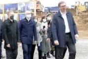 Počela izgradnja Fruškogorskog koridora; Vučić: Grabimo u budućnost, radimo velike stvari