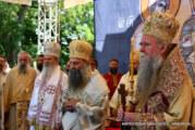 Doček patrijarha Porfirija ispred Hrama Hristovog vaskrsenja