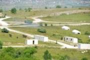 Vežba vojske na poligonu Borovac kod Bujanovca