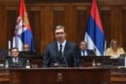 Vučić pred poslanicima o Kosovu i Metohiji i dijalogu