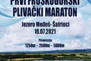 Prvi Fruškogorski plivački maraton u nedelju na Šatrinačkom jezeru