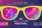 19. Summer3p Festival od 23. jula na Paliću