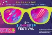 Summer3p festival od 23. do 25. jula kraj Palića