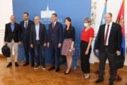 Vučević sa gradonačelnikom Kikinde o međugradskoj saradnji