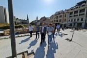 Vučević: Napreduju radovi na revitalizaciji gradskog jezgra