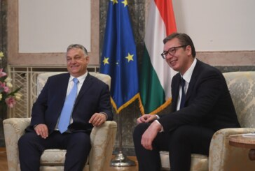 Vučić i Orban prisustvuju početku radova na železničkoj pruzi Subotica – Horgoš