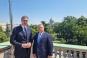 Vučić na Samitu u Budimpešti, u toku dana sa Orbanom