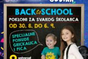 Pokloni za školarce u Areni od 30. avgusta do 6. septembra
