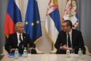 Vučić sa predsednikom Gasporom Njefta
