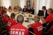 Vučević se sastao sa članovima Kajakaškog kluba Liman