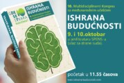 "Kongres ""Ishrana budućnosti"" 9. i 10. oktobra u Novom Sadu"