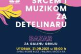 Humanitarna manifestacija na Detelinari za trogodišnju Galinu